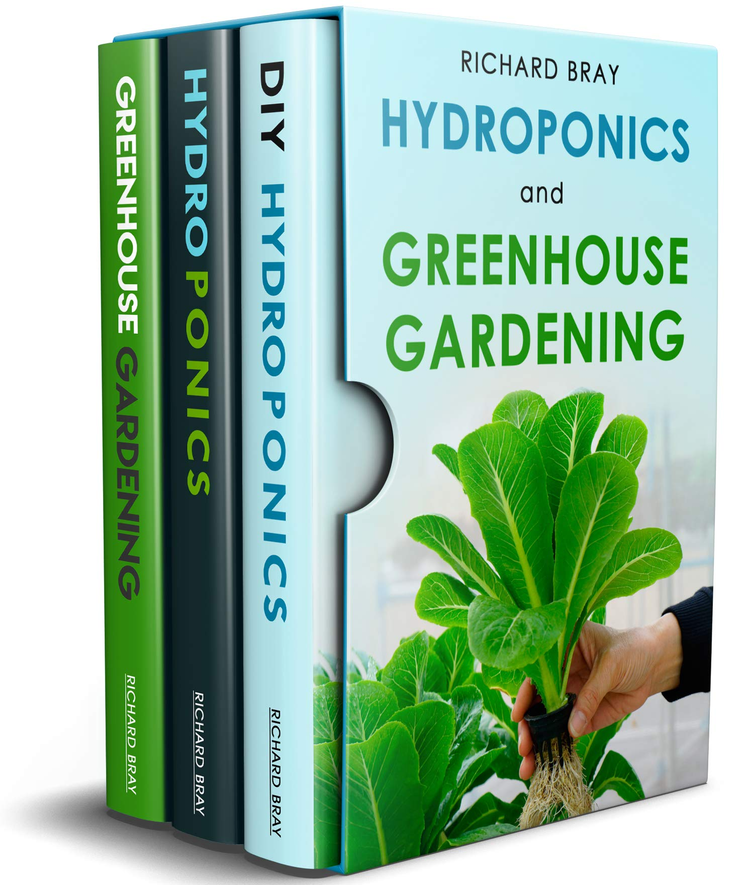 Hydroponics and Greenhouse Gardening: 3-in-1 Gardening Book Bundle to Grow Vegetables Herbs and Fruit All-Year-Round (English Edition)