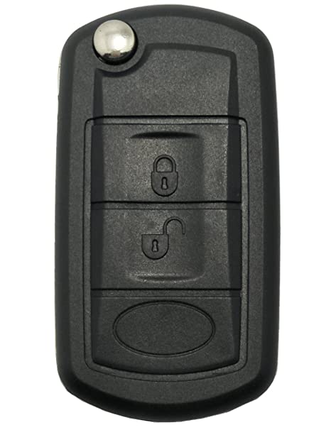 Amazon.com: Carcasa para llave plegable con 3 botones de ...