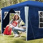 Tente pliable pour jardin