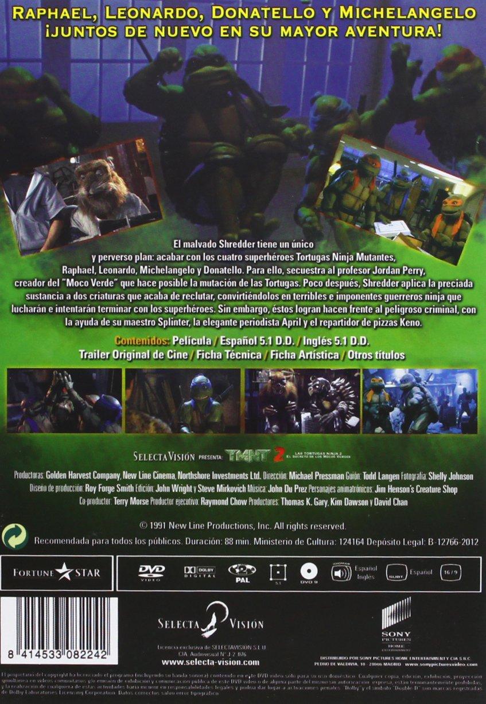 Amazon.com: Tmnt 2: El Secreto De Los Mocos Verdes (Import ...
