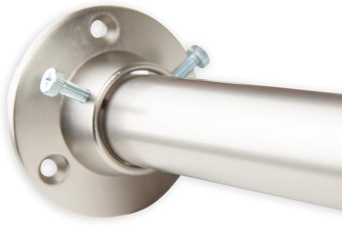 RUDI 1 Adjustable 28-48 inch Room Divider Rod with Socket Set Bronze