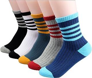 Eilin Leisure Breathable Children's Boys Socks Sports Socks 5 Pack
