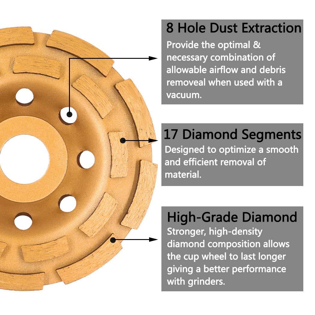 6 No Holder Centre Strip /& Clean Discs with 1//2 Hole 6x1//2 2PCS