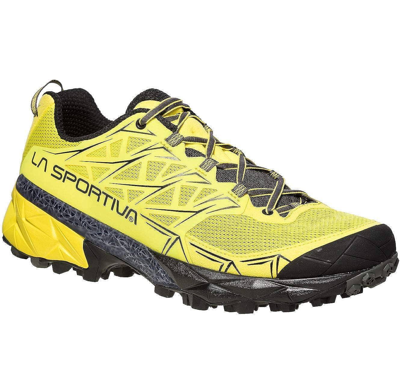 Jaune (Butter 000) 47.5 EU La Sportiva Akyra, Chaussures de Trail Homme