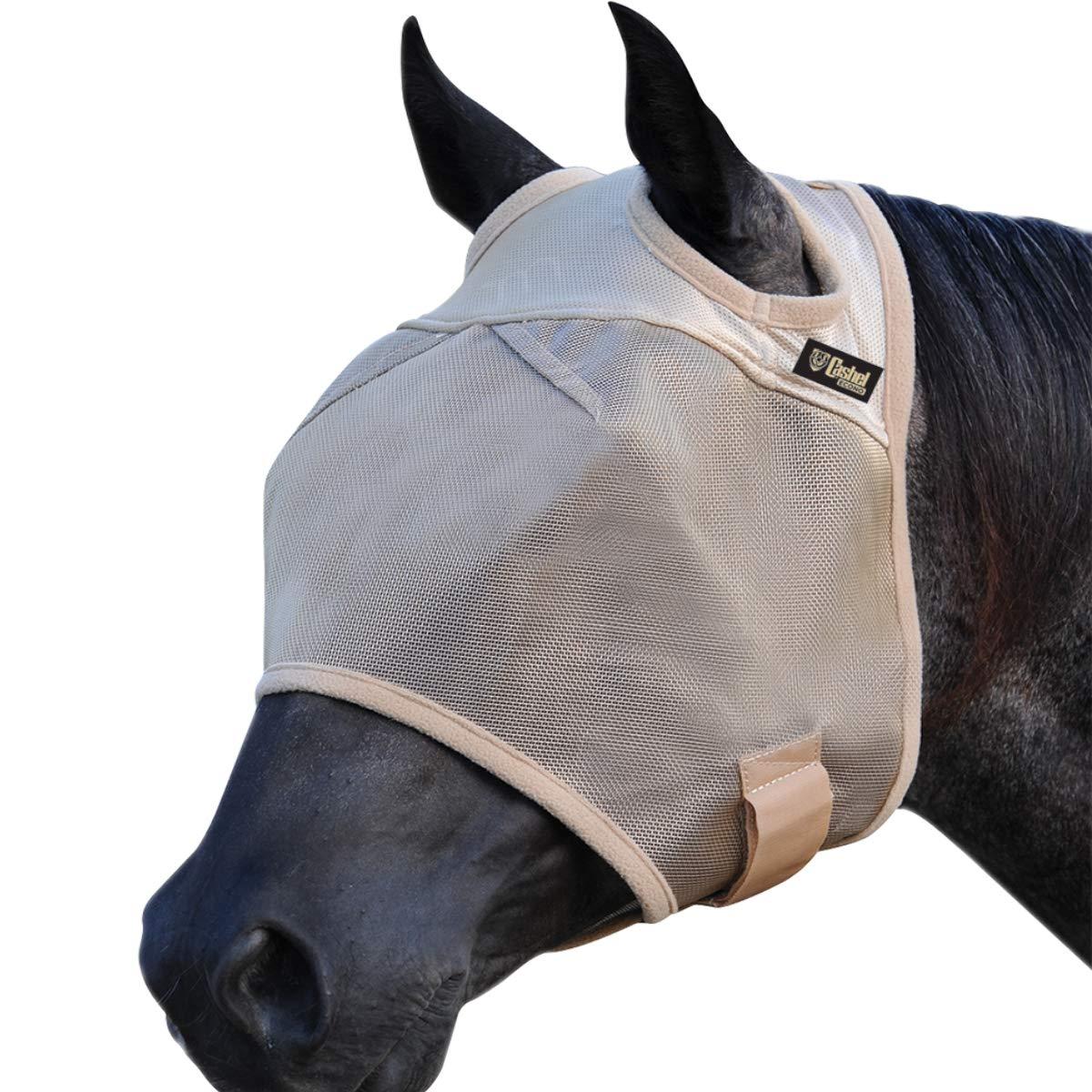 Cashel Econo Horse Fly Mask, Standard, Horse by Cashel