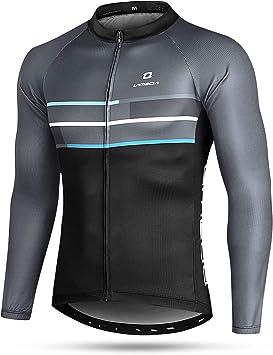 LAMEDA Camiseta Maillot Ciclismo Térmica Ligera Cómoda ...