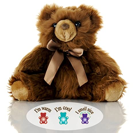 Amazon toasty junior chocolate bear lavender aromatherapy toasty junior chocolate bear lavender aromatherapy microwavable stuffed animal hot cold therapy altavistaventures Images