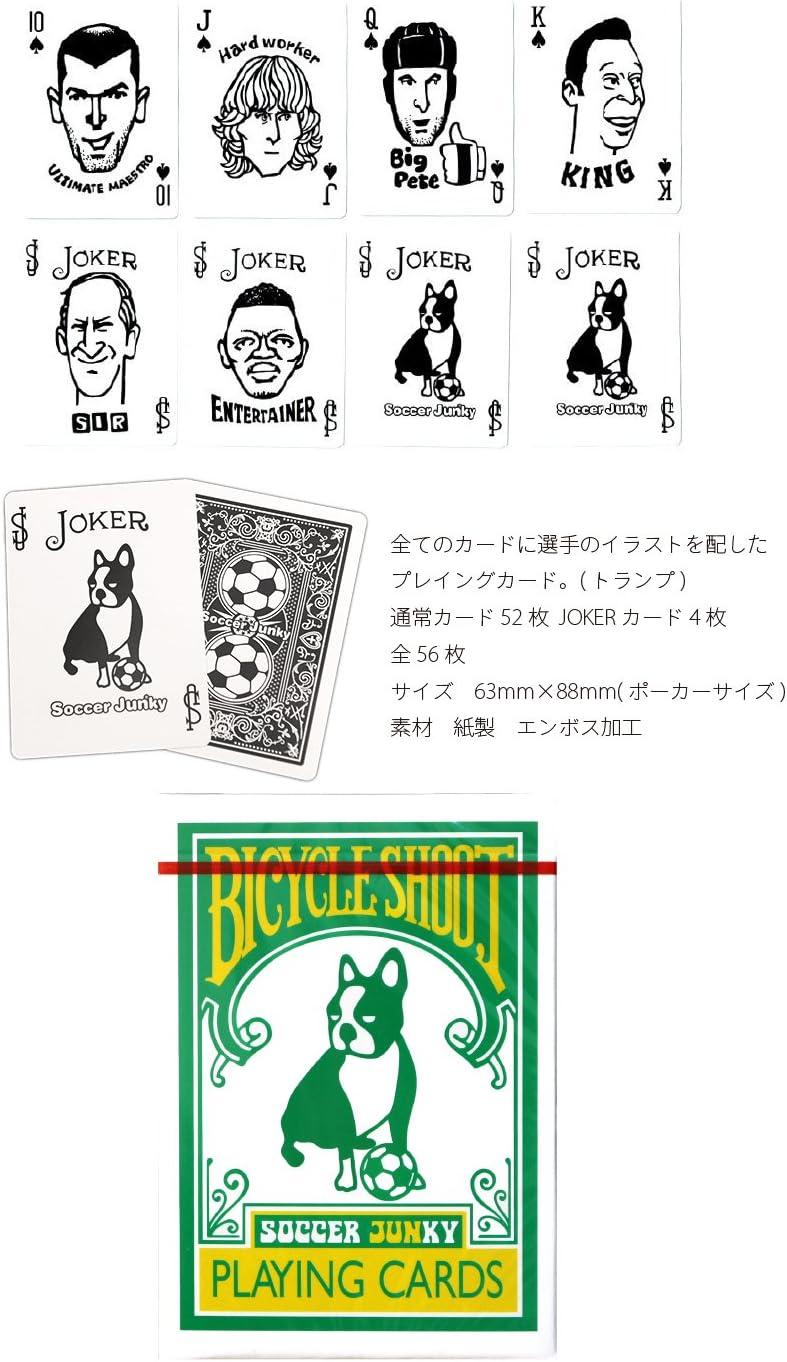 Amazon Co Jp Soccer Junky サッカージャンキー トランプ Sj0527 F