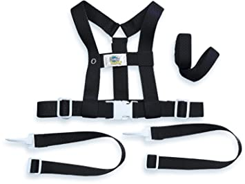 Amazon.com : Baby Buddy Deluxe Security Harness, Black : Baby
