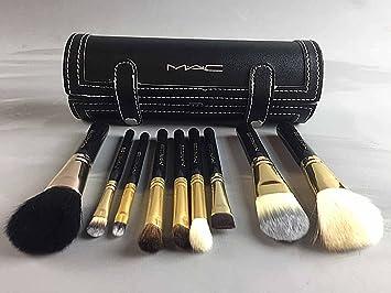 MAC Professional 9 Piece Makeup Brush Set and Case