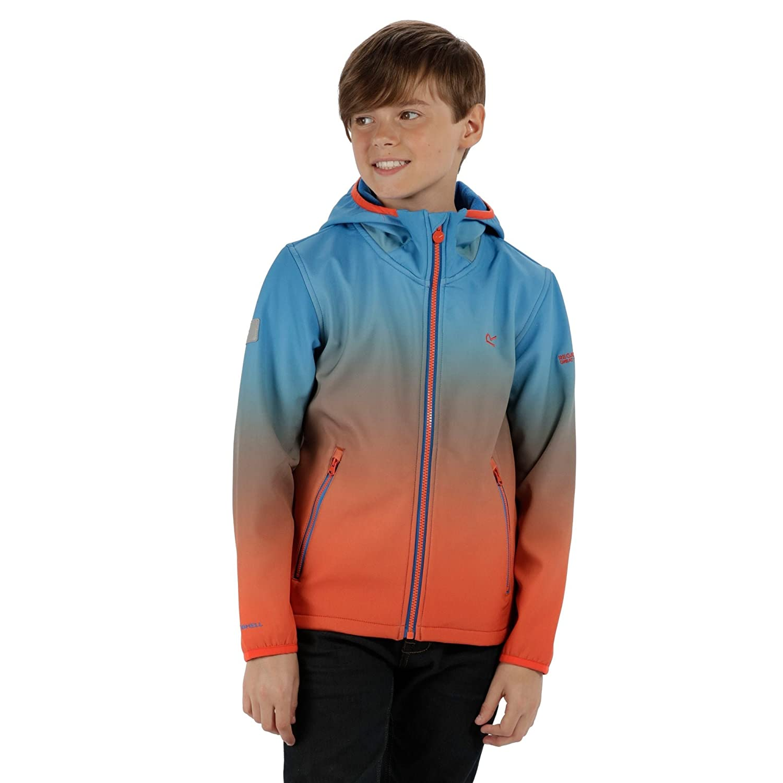 Regatta Boys & Girls Anodize Water Repellant Softshell Coat Jacket