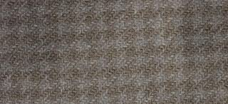 """product image for Weeks Dye Works Wool Fat Quarter Houndstooth Fabric, 16"""" by 26"""", Galvanized"""
