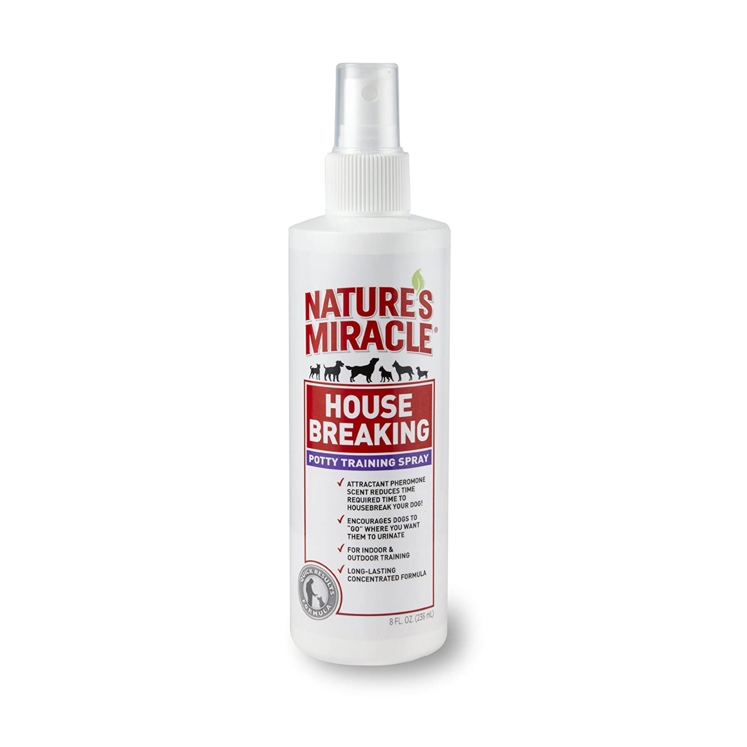 United Pet Group Nature's Miracle House-Breaking Potty Training Spray 16-Ounce (P5766) Nature's Miracle P-5766