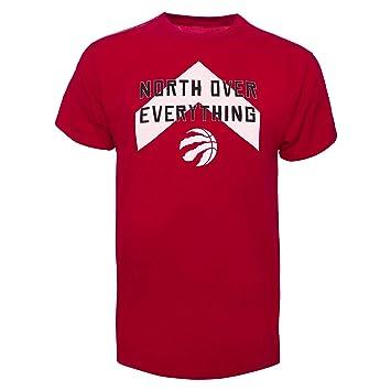 hot sale online e21e5 22b67 Toronto Raptors NBA 47 Brand North Over Everything Tee, T ...