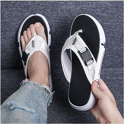 Mens Sandals Summer Outdoor Woven Comfy Flats Flip Flop Walking Slippers Sports