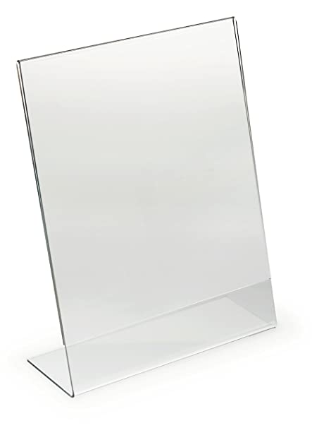 Amazon.com : Displays2go Set of 25, Clear Acrylic Display Frames for ...