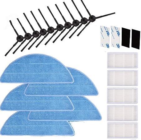 KEEPOW® Kit de Filtre HEPA Pour ILIFE V5s V5 V3s V3 Pro Brosses Latérales et