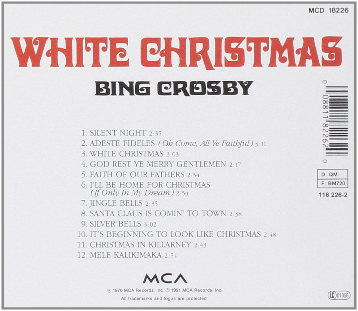 White Christmas: Amazon.co.uk: Music