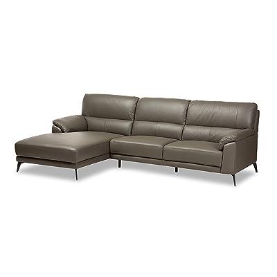 Baxton Studio 424-7953-AMZ Raakelo Sectional Sofa