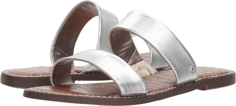 Sam Edelman Women's Gala Slide Sandal B076MJ8S69 7.5 W US|Silver Metallic Leather