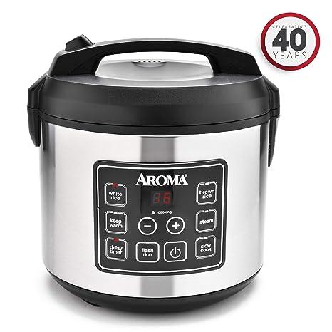 Amazon.com: Aroma Housewares Professional Plus - Olla de ...