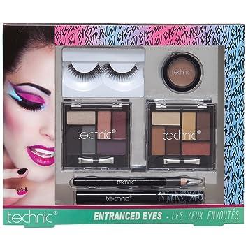 47634bbbf98 Technic Entranced Eyes Make Up Cosmetic Gift Set: Amazon.co.uk: Beauty