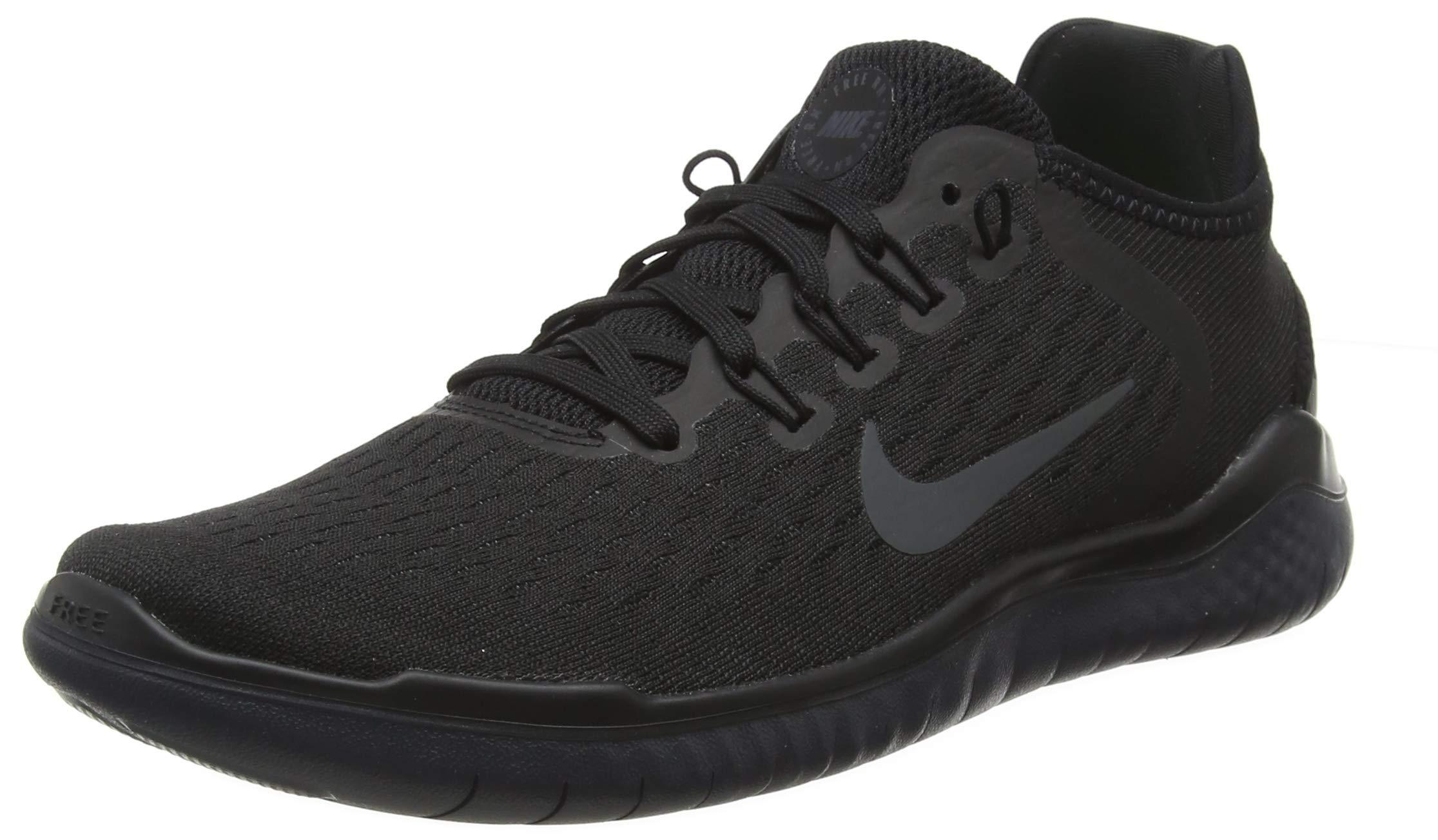 Nike Free Rn 2018 Mens 942836-002 Size 6.5 Black/Anthracite