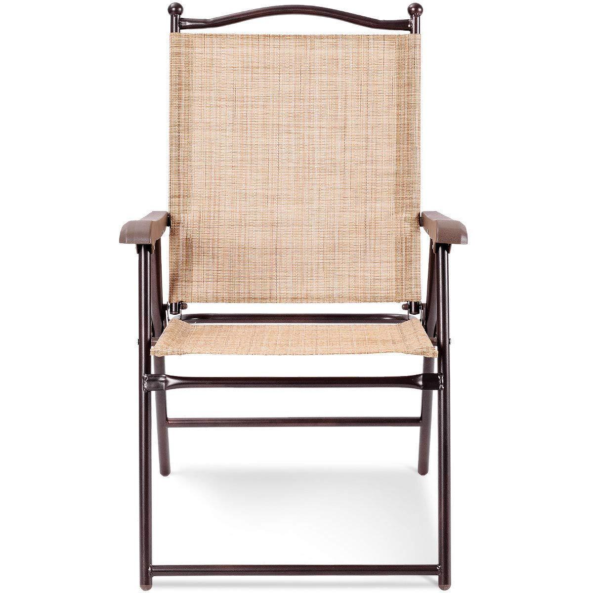 Amazon.com: Juego de 2 sillas plegables para patio o patio ...