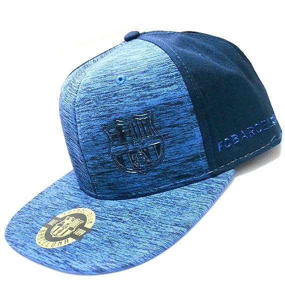 Gorra F.C. Barcelona Rap Melange azul [AB3459]: Amazon.es: Ropa y accesorios