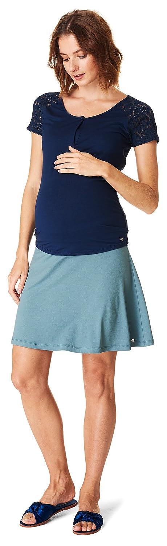 Herstellergr/ö/ße: S ESPRIT Maternity Damen Mix Nursing ss yd Umstands-T-Shirt Blau 36 Night Blue 486