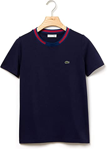 Lacoste - Tee-Shirt Femme: Amazon.fr: Vêtements