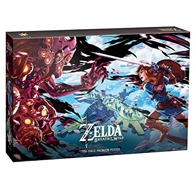 Legend of Zelda: Breath of The Wild The Scourge of Divine Beast Vah Medoh 750-Piece Premium Puzzle: Toys & Games