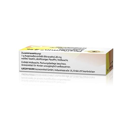 Antibakterielle Augensalbe