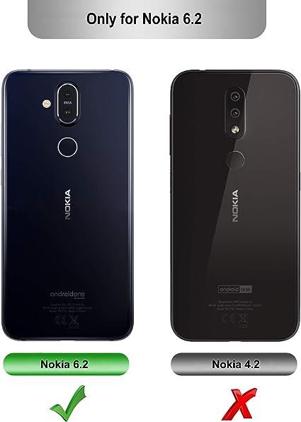 iBetter para Nokia 6.2 / Nokia 6 2019 Funda Suave y Duradera ...