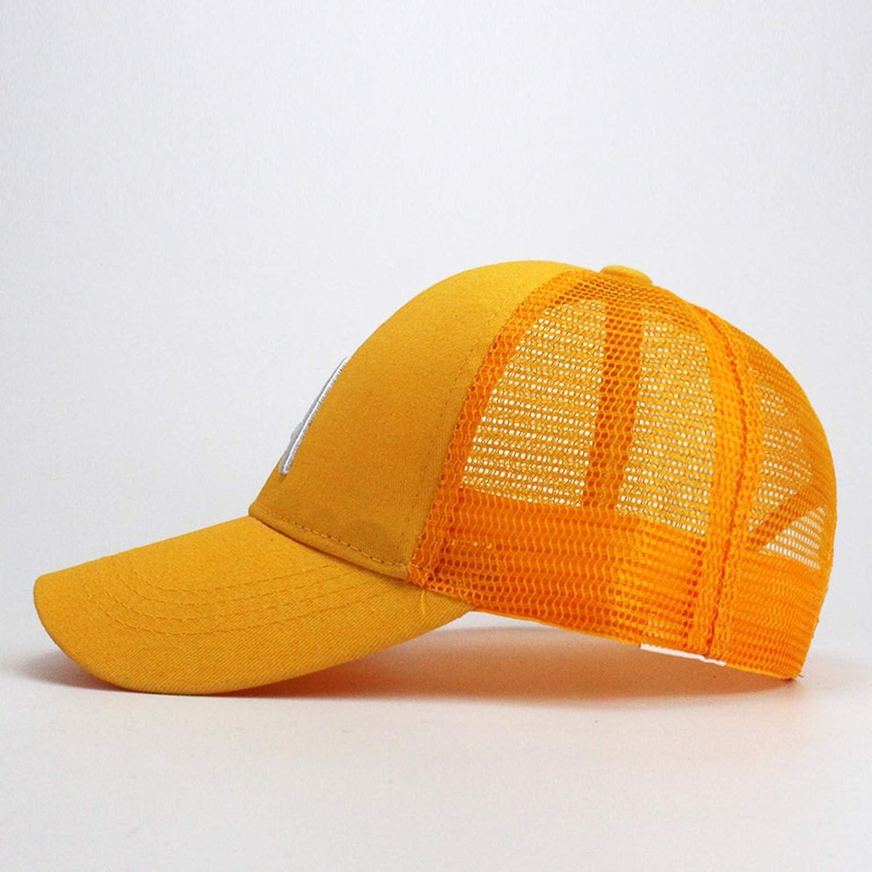 Cute Children Baseball caps Baby Girls Sun Visor Hats Boys Snapback Letter A Embroidery Kids Summer mesh Cap