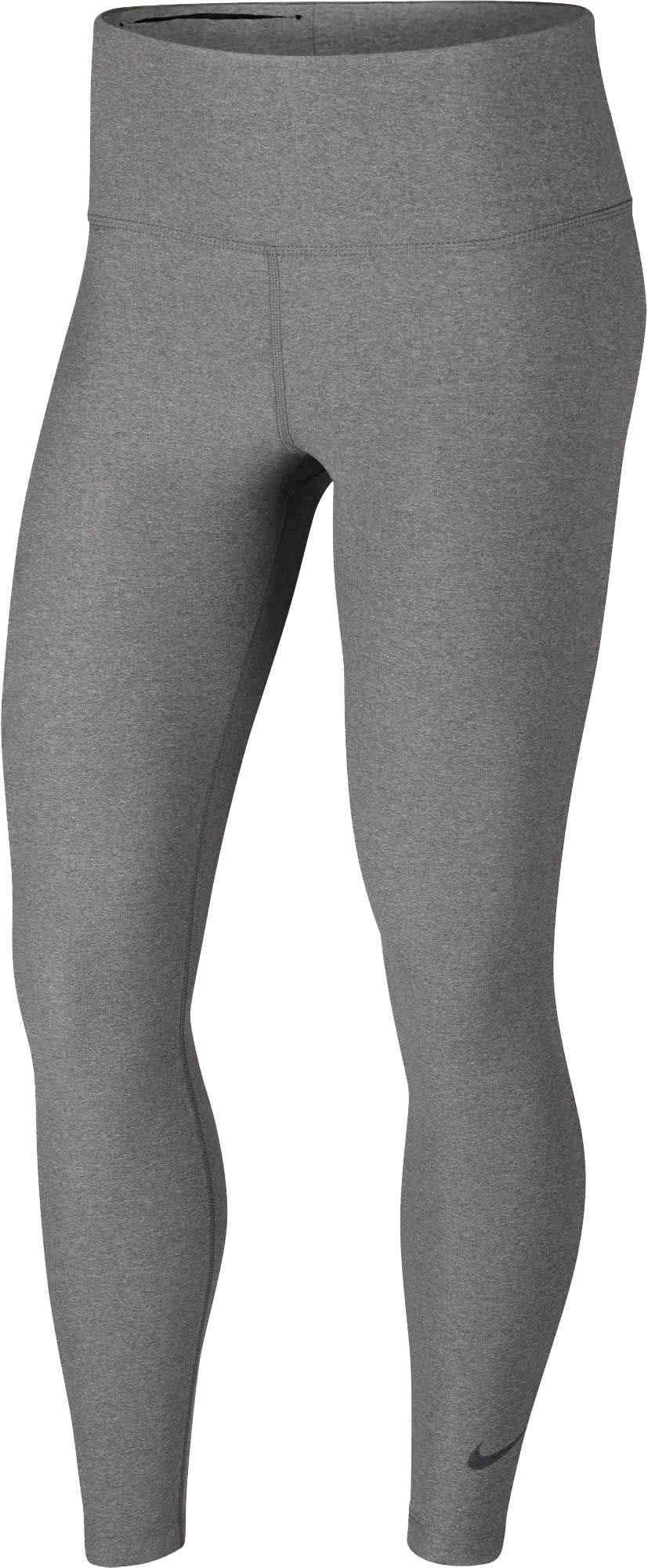Nike Womens Sculpt Hyper Tights (Dk Grey Heather, Medium)