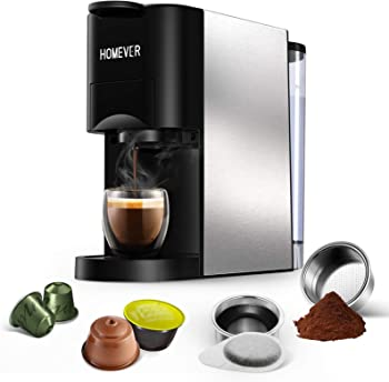 HOMEVER Mini Semi-automatic Espresso Machine Under $400
