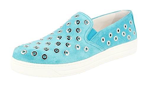 Prada 3S6159 O53 F0360 - Mocasines para Mujer, Color, Talla 39.5 EU: Amazon.es: Zapatos y complementos