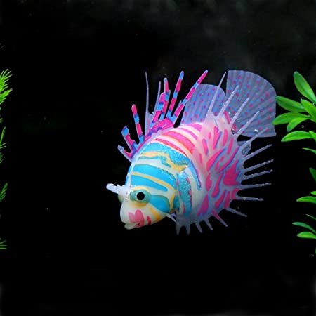 Saim® Acuario Fish Tank artificial Fake Lionfish adorno decoración: Amazon.es: Productos para mascotas