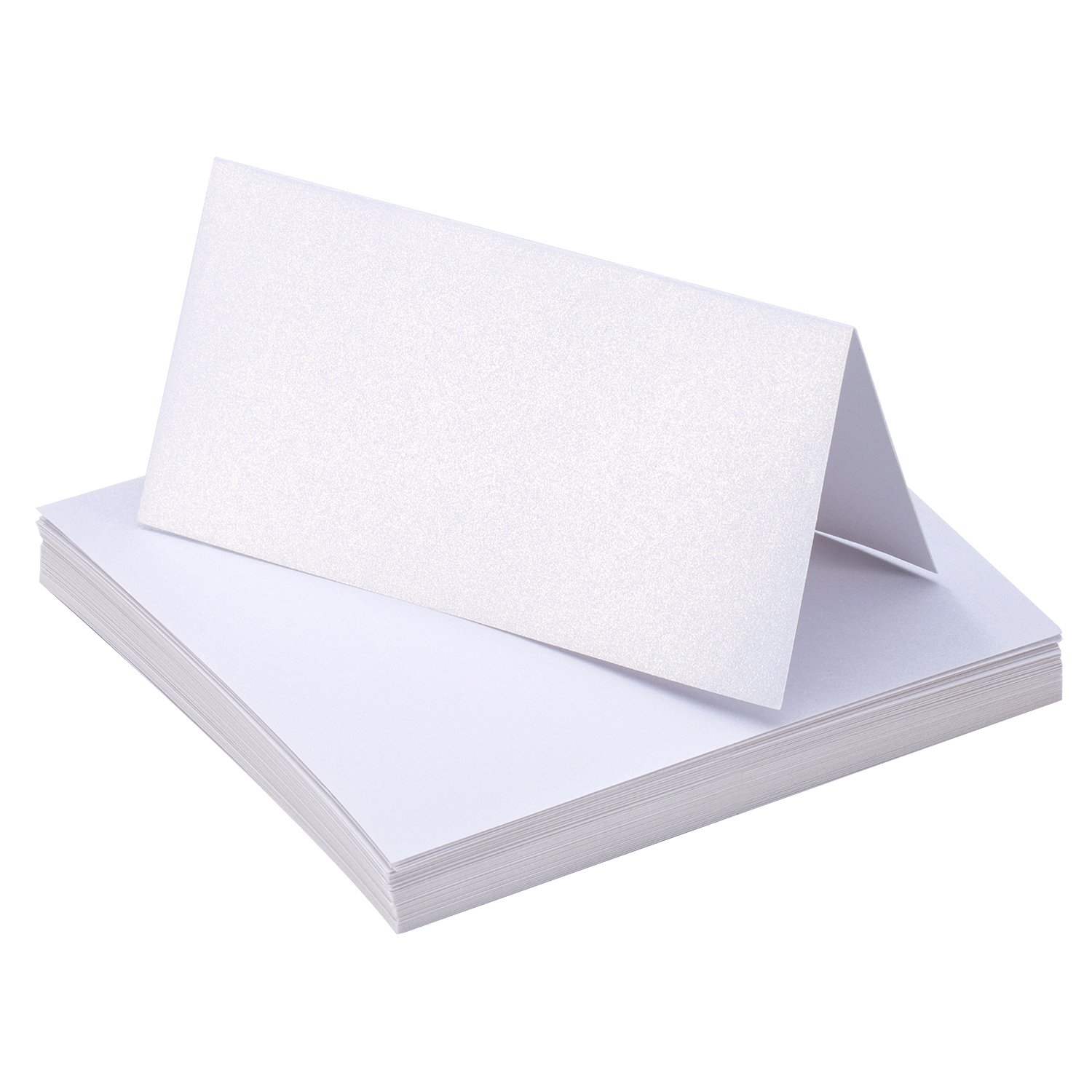 50 Pieces White Table Cards Name Place Cards for Wedding Party Decoration Bememo