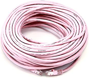 2-Pack Monoprice Cat5e Ethernet 100ft Patch Cable