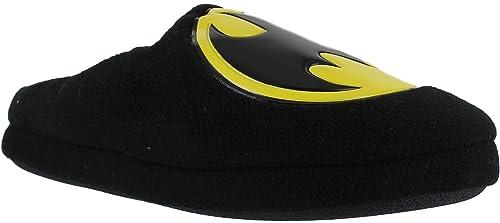 Oficial Caballeros Batman DC Mula Deslizante Patucos Botines Pantuflas: Amazon.es: Zapatos y complementos