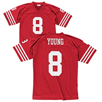 new concept 9ca86 9a466 Mitchell & Ness Steve Young San Francisco 49ers Throwback Premier Red Jersey