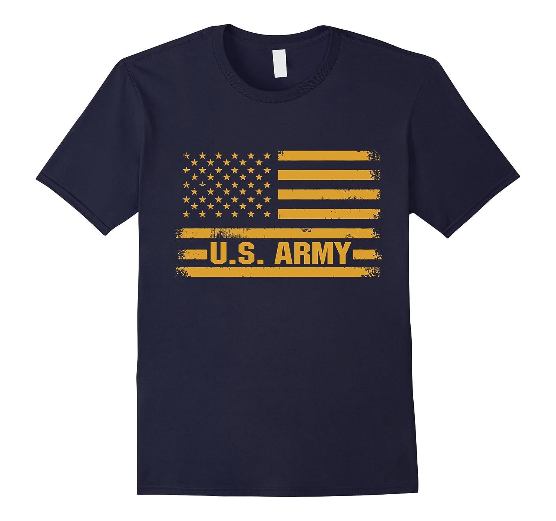 USA Patriotic States Army Falg T-shirt US Army Falg shirt-PL