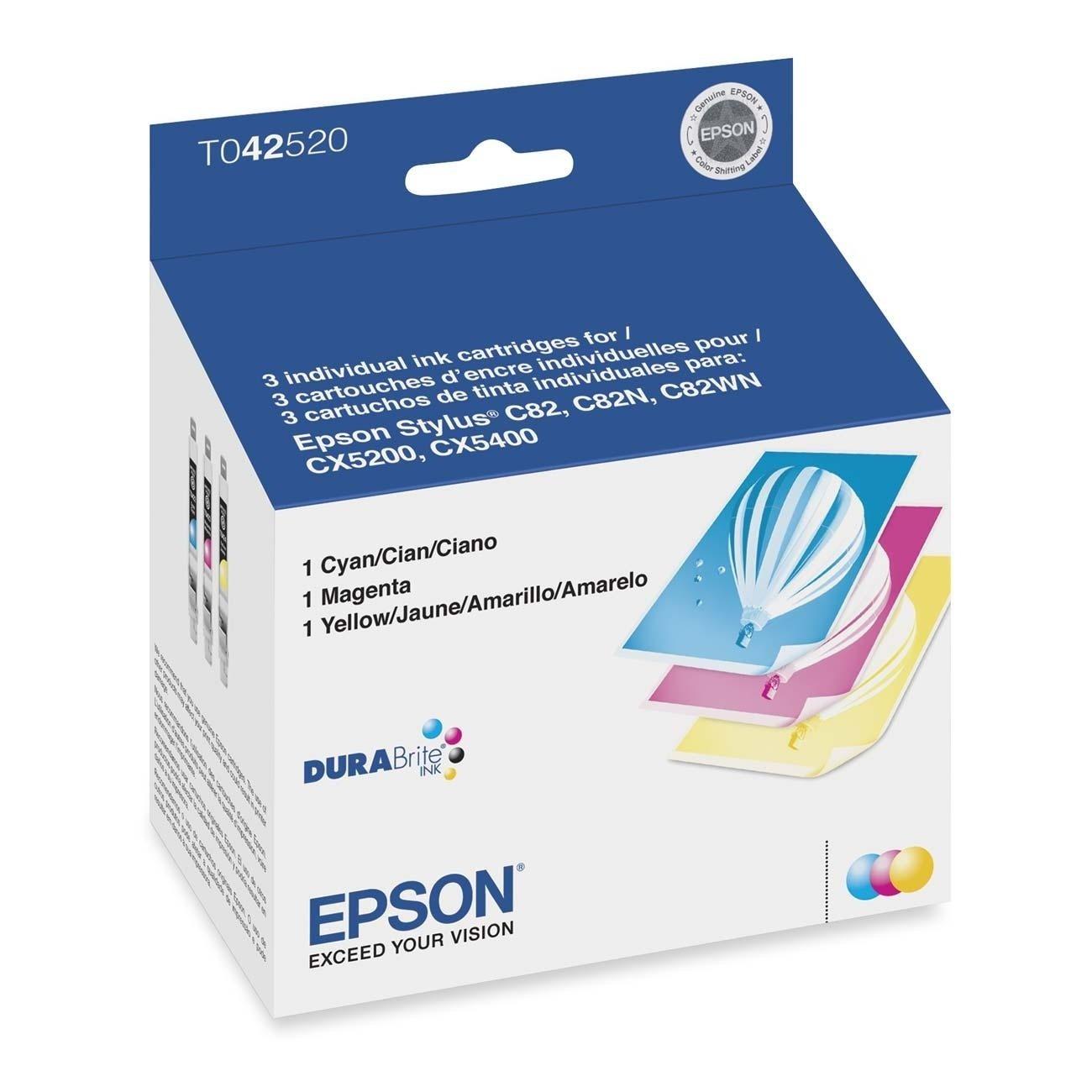 Amazon.com: T042520 Cartuchos de impresora Epson t042520-ink ...