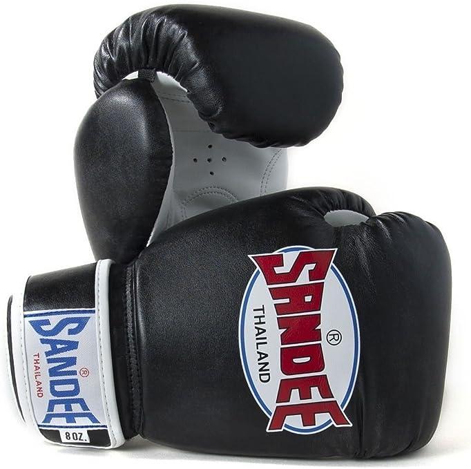 Sandee Boxing Gloves Muay Thai Sport Red /& White