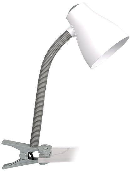 Smartwares 10.011.68 Lámpara de Escritorio con Pinza de Fácil ...