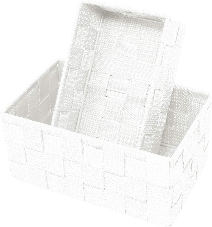 Aufbewahrungskorb 8er Set Badkörbchen Storage Basket PP Körbchen Korbset Badkorb
