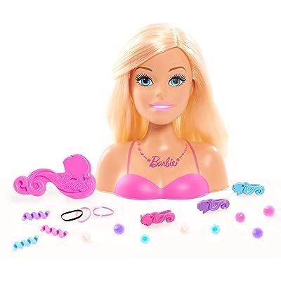 Just Play Barbie Tête à coiffer