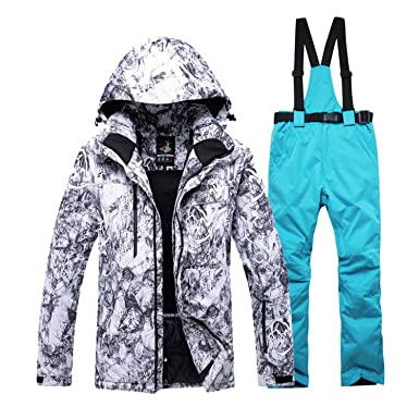 -30 Warm Adult Snow Suit Specially Mens Snowboarding Sets Waterproof  Windproof Ski Suit Sets Jackets 00602bd64